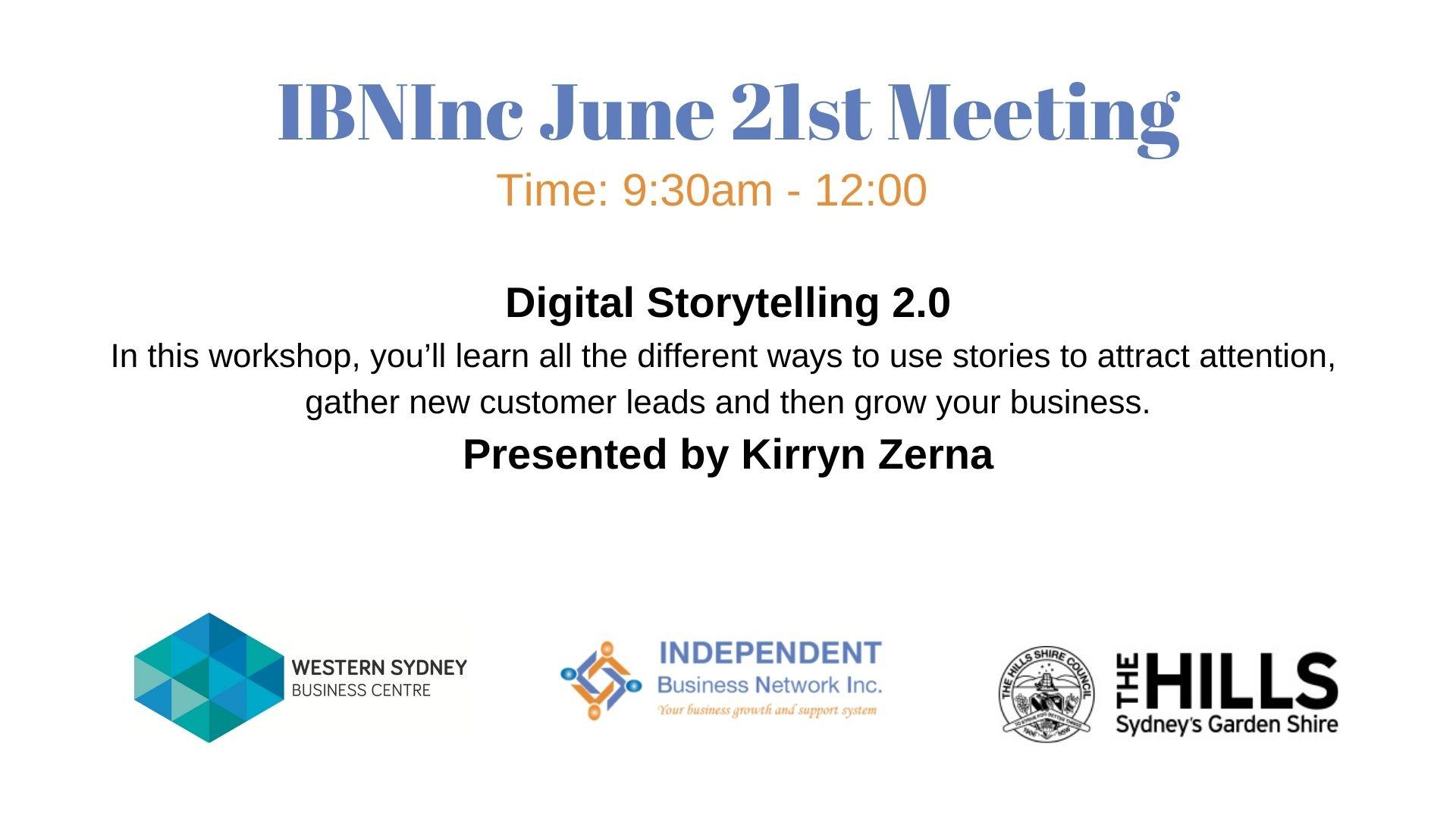 Digital storytelling 2.0